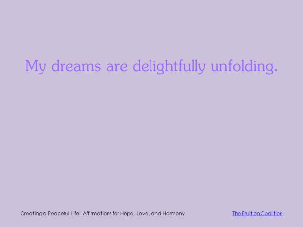 3-12 Delightful Dreams