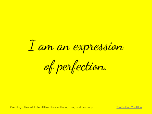 3-14 Expression of Perfection