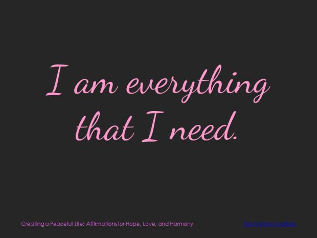 3-18 Everything I Need
