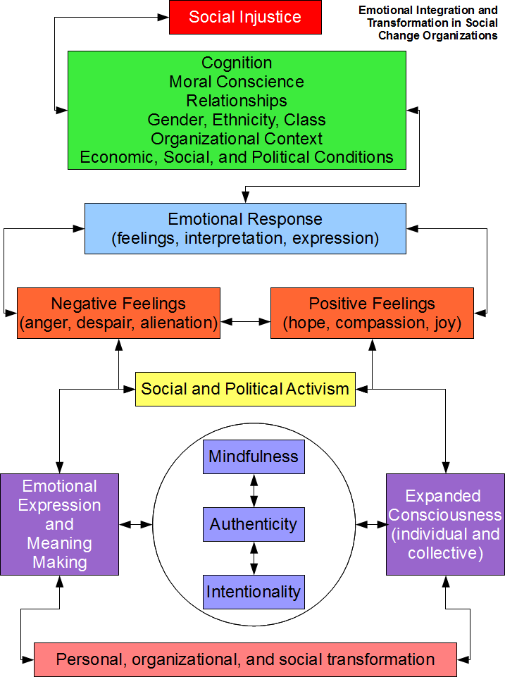 Emotional Integration and Transformation in Social Change Organizations